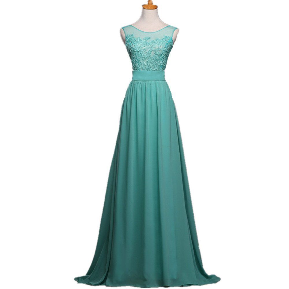 Aladdin Vintage Prom Dresses 2015 Long Chiffon Dress for Juniors ...