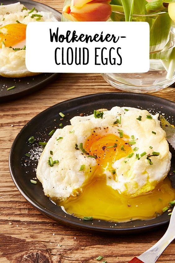Wolkeneier - Cloud Eggs selber machen