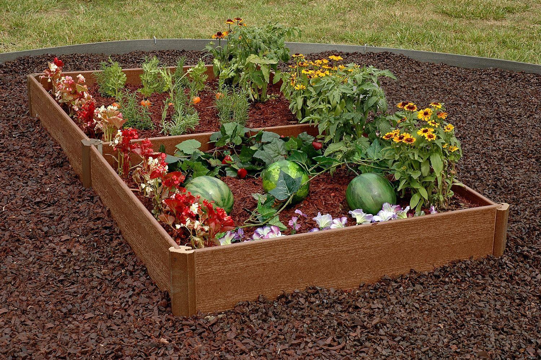 42 X 84 X 8 8 Inch Depth Makes One 42 X 84 Garden Includes 7 Boards 4 Two Way Corners 2 Three Way Garden Beds Vegetable Garden Raised Beds Garden Kits