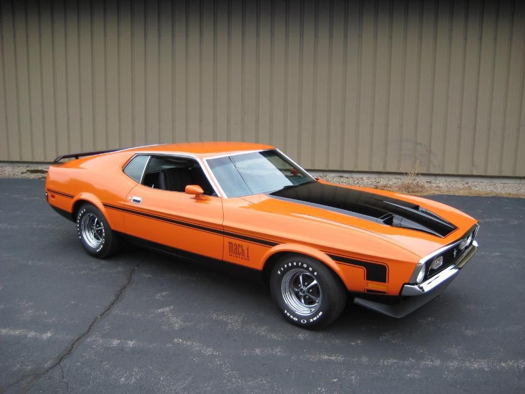 1971 ford mustang mach i 351 cleveland the only one needs