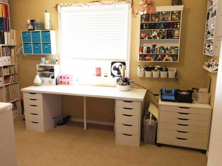 The Best Ikea Craft Room Tables And Desks Ideas Jennifer Maker Craft Room Tables Ikea Craft Room Ikea Crafts