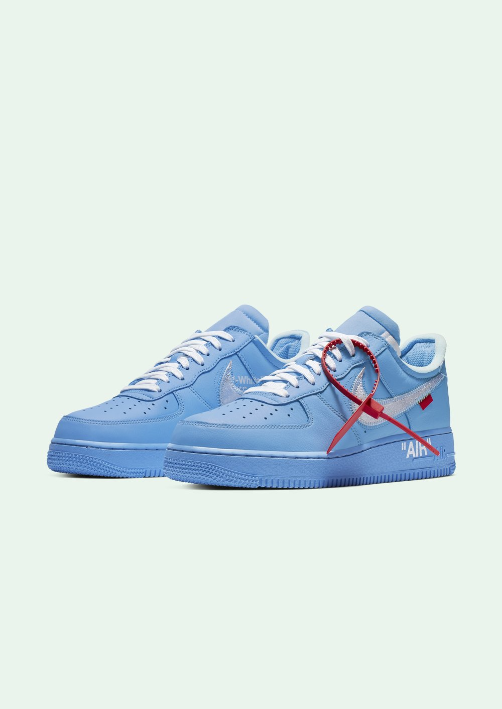 Off White X Nike Air Force 1 Mca Blue White Air Force 1 Off White Shoes Dream Shoes