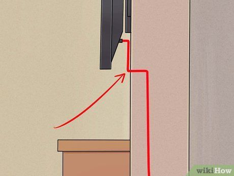 Install A Flat Panel Tv On A Wall With No Wires Showing
