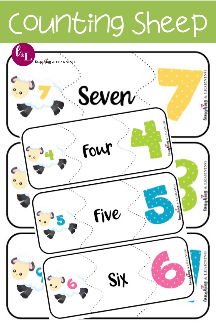 Counting Sheep Number Sense Numeration Activities Laughing Learning Preschool Activities Printable Activities For Kids Math Activities Preschool [ 1102 x 735 Pixel ]