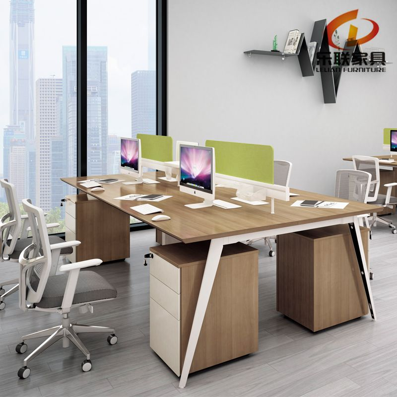 Zs B2812 Modern Open Space Linear Office Cubicle Workstations For
