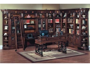 Shop+for+Parker+House +Writing+Desk,+BAR 485,+and+other+Home+Office+Desks+at+Russellu0027s+Fine+ Furniture+in+San+Jose,+CA.+A+modular+library+wall ...