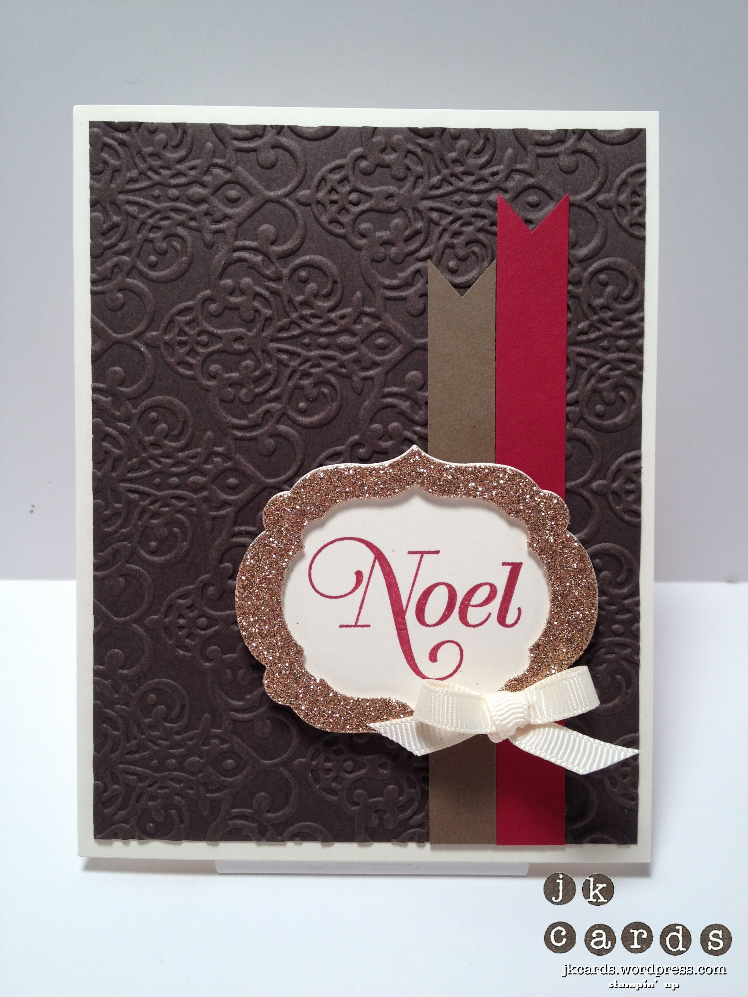 Stampin Up, Paper Craft Crew, Greetings Of The Season, Lacy
