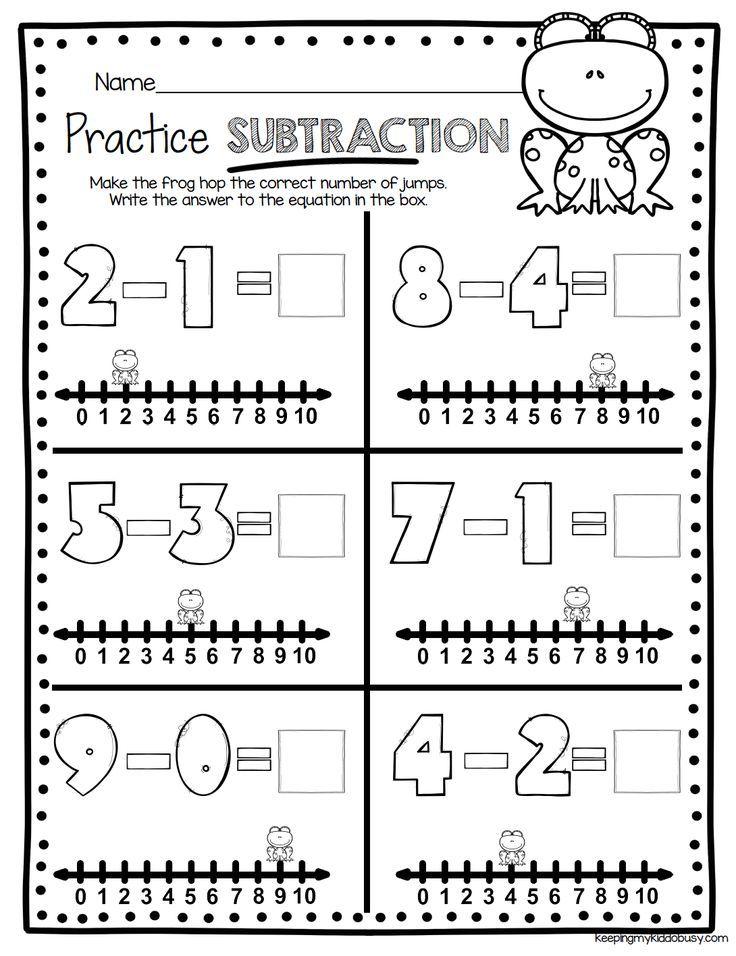 Operations  Algebraic Thinking Bundle \u2013 FREEBIES Subtraction
