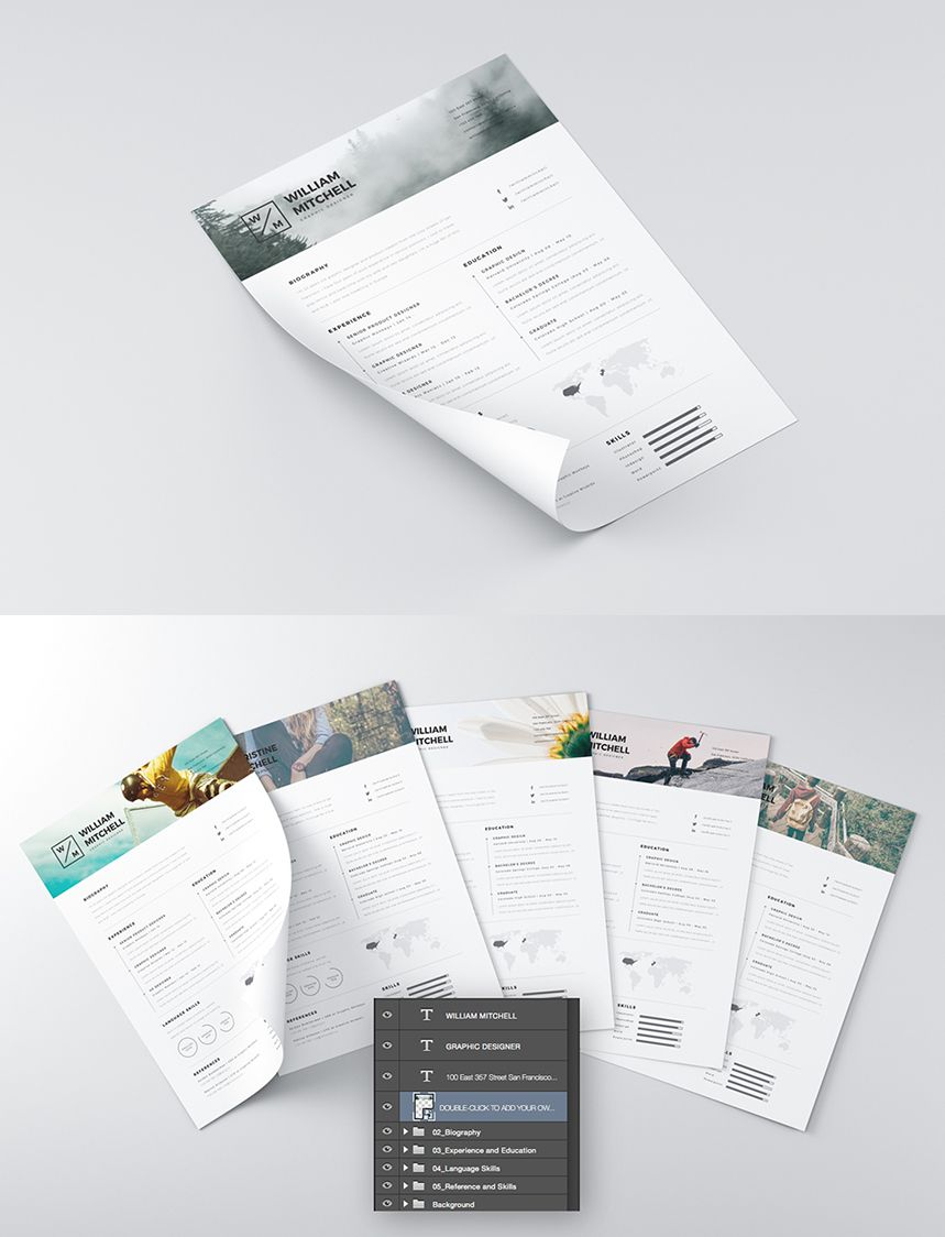 nice 15  best free resume    cv templates psd  your cv is the main opportunity to make a positive