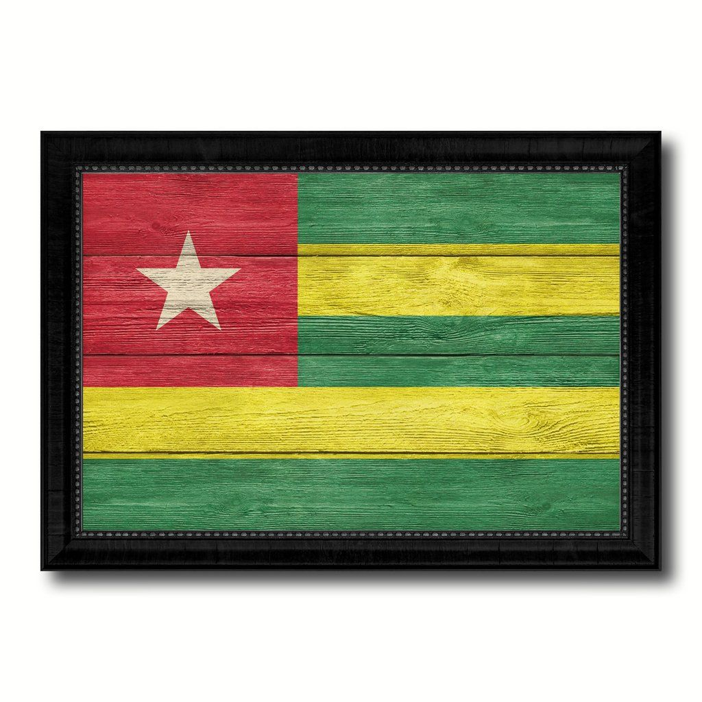 Custom Picture Framed with Country Flag Art. Beautifully Print on ...