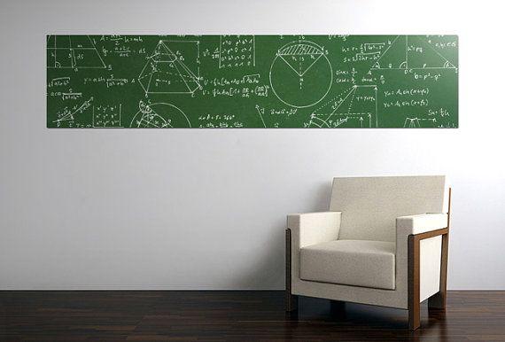 GREEN Chalkboard sticker  200x45 by MegaBoards on Etsy