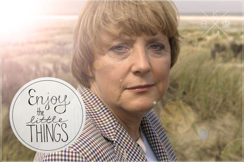 Hipster Merkel: Enjoy the little things