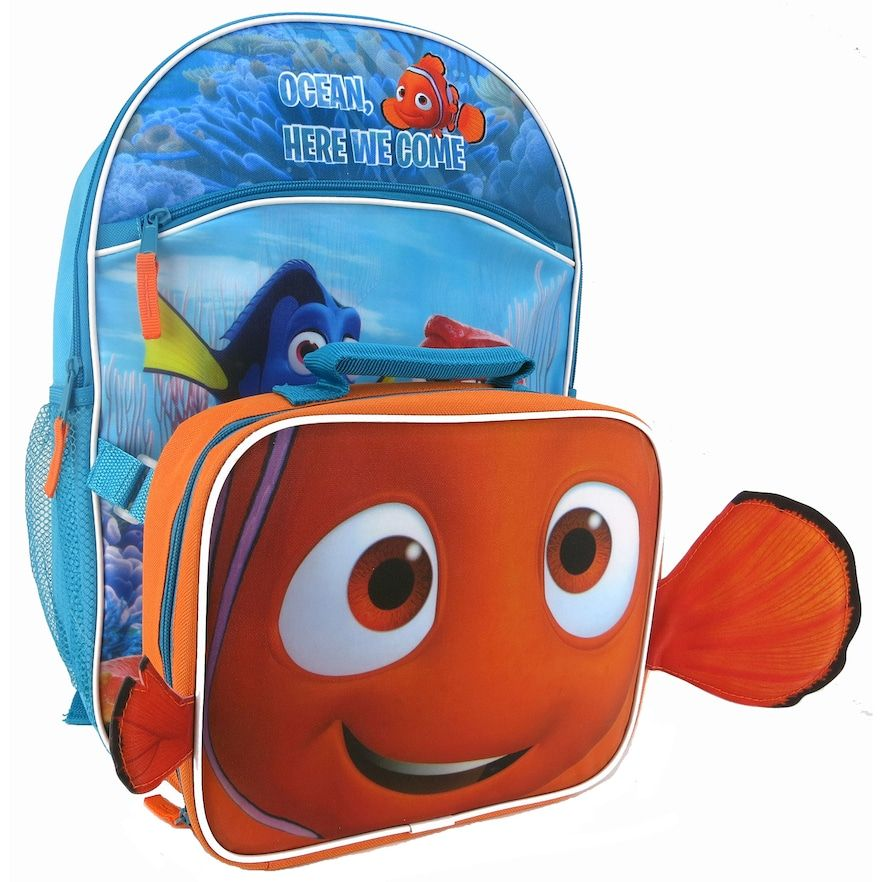 Disney   Pixar Finding Dory Kids Backpack   Lunch Tote Set ... 32d1bfa4f50c0
