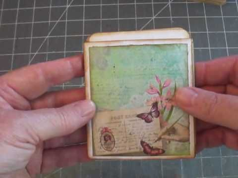 Envelope Pocket Page for Journals