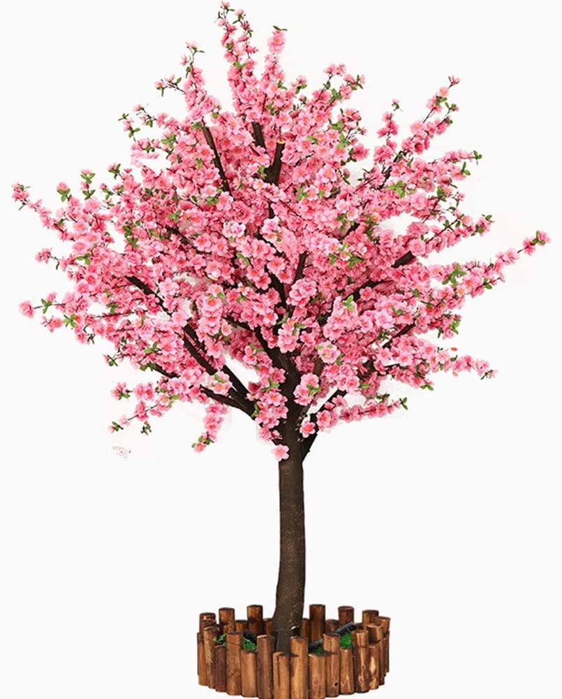 Amazon Com Vicwin One Artificial Cherry Blossom Trees Japanese Cherry Blossom Pink Fake Sakura Flower Indoor O Blossom Trees Sakura Flower Cherry Blossom Tree