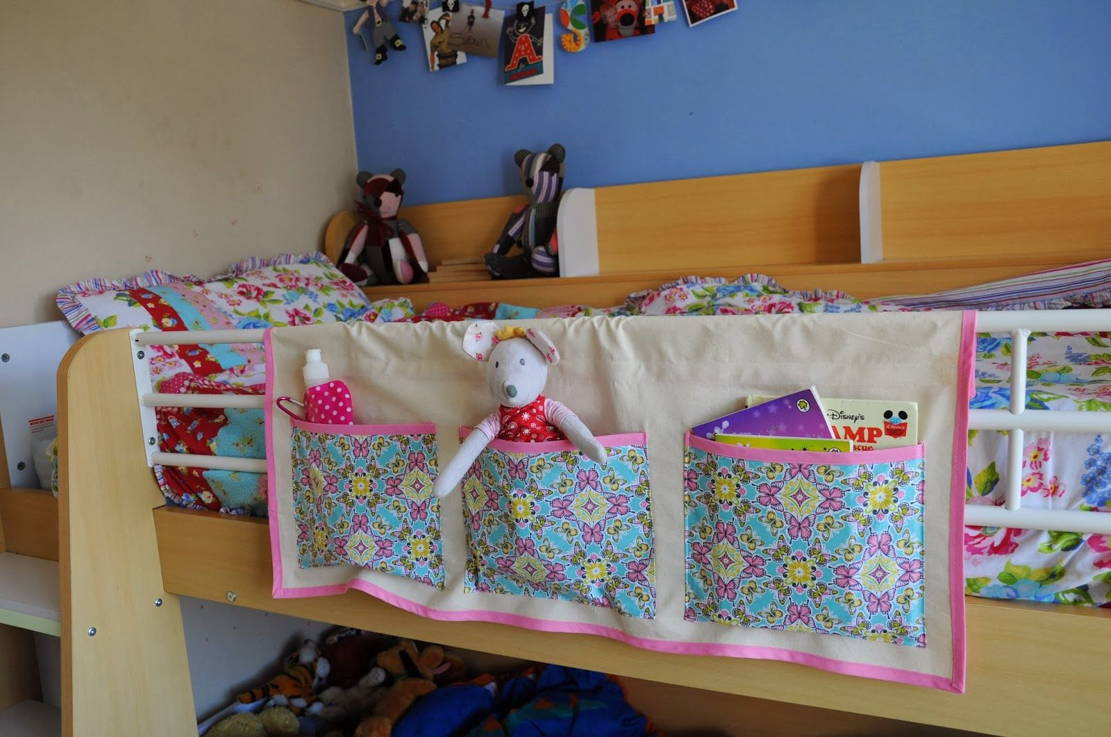 Bunk Bed Tidy Tutorial Sewing Stitching Pinterest Sewing