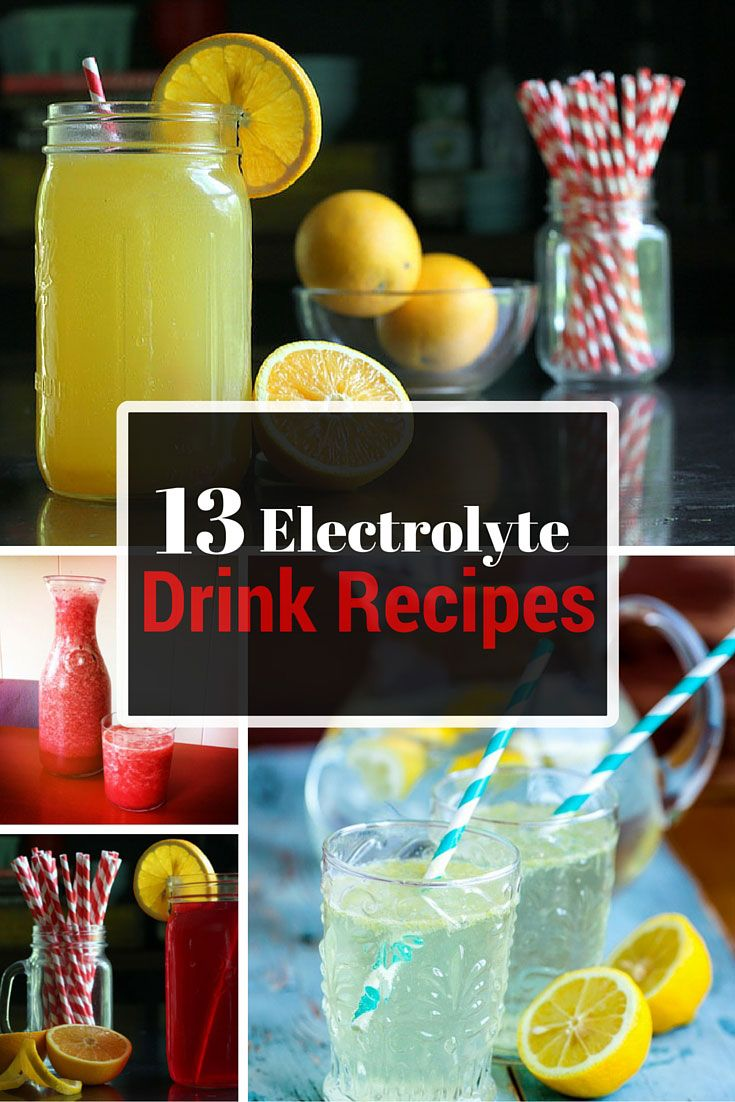 13 DIY Electrolyte Drink Recipes Electrolyte drink