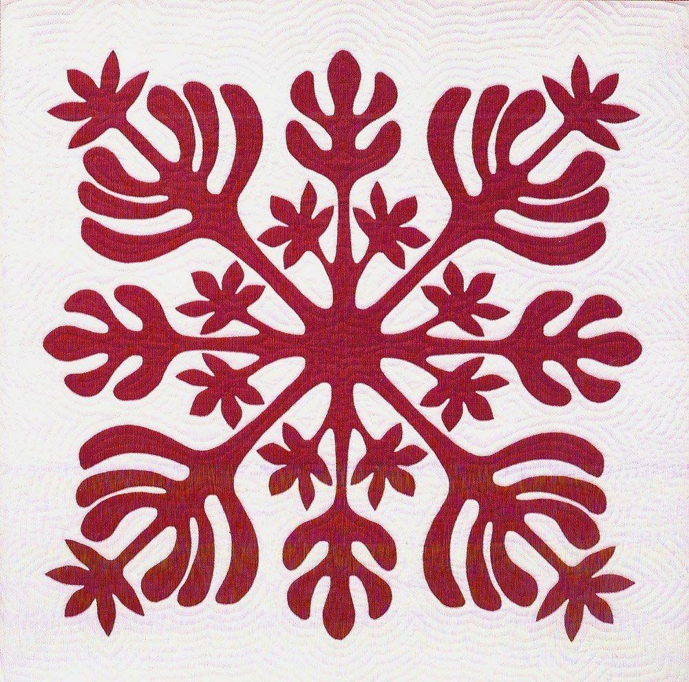 Free Hawaiian Quilt Block Patterns | Hawaiian Quilting Patterns ... : hawaiian quilting techniques - Adamdwight.com