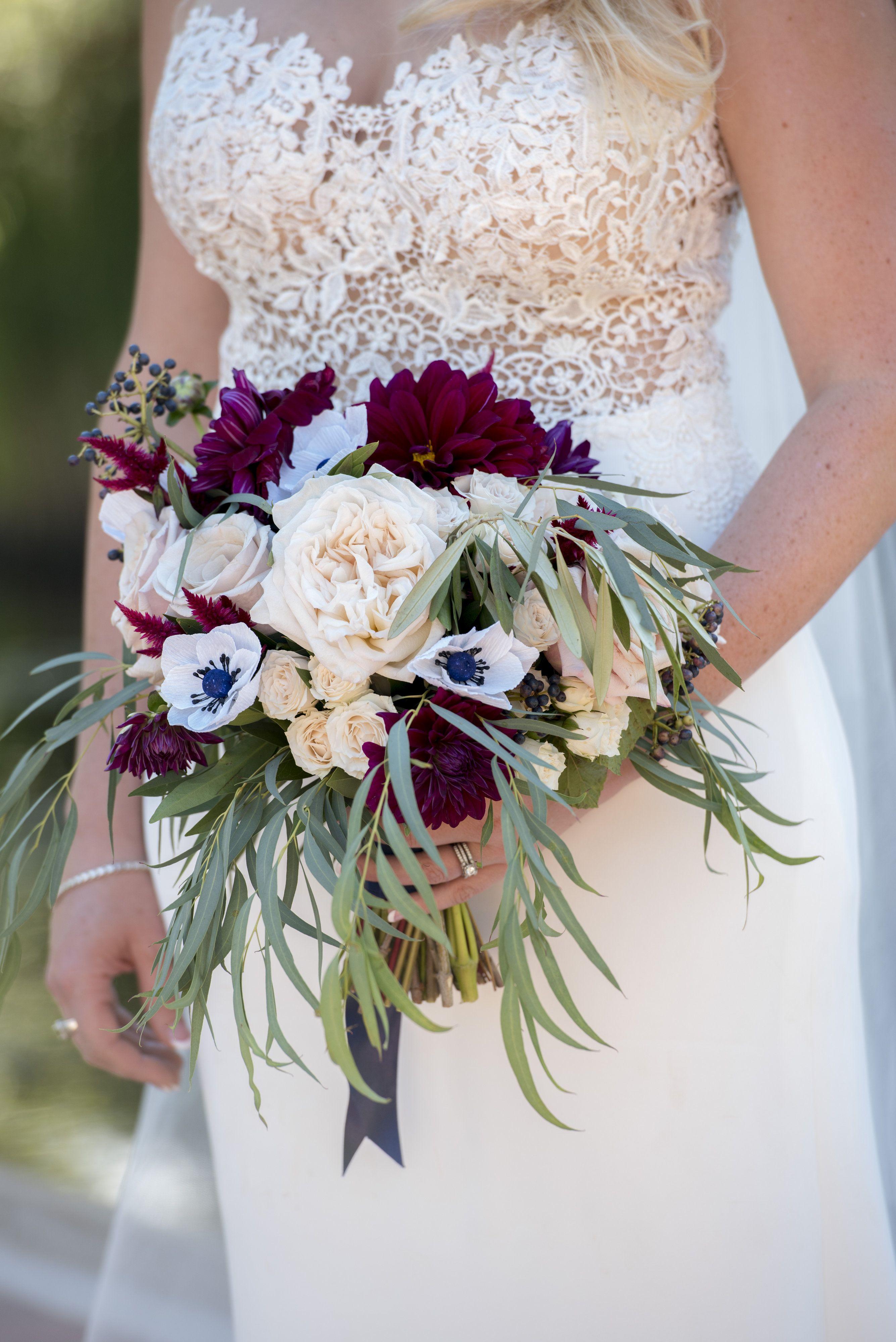 Denver Colorado wedding venue Villa Parker bouquet