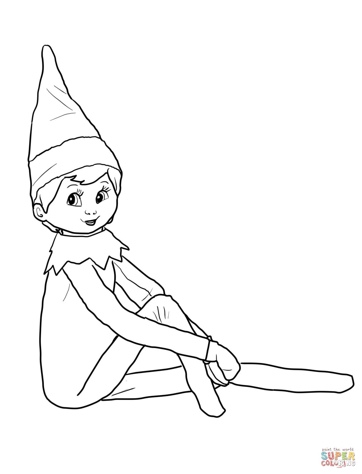 Elf On The Shelf Coloring Pages Google Search Dibujos Para Colorear Imagenes De Navidad Actividades Para Ninos