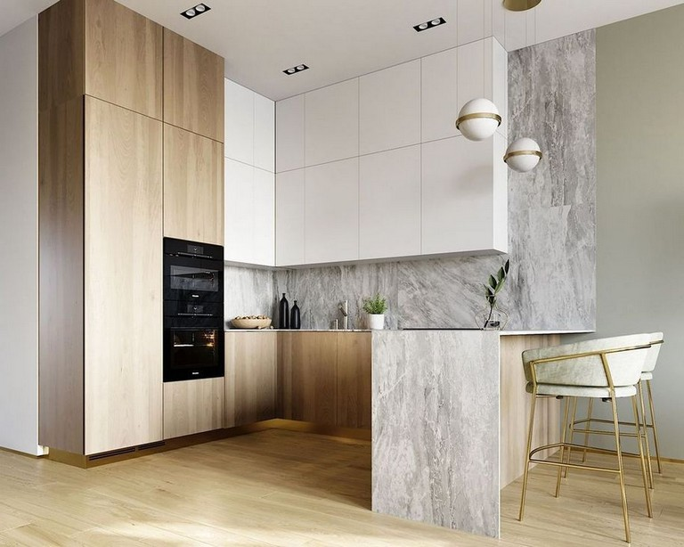 53 Elegant U Shaped Kitchen Remodel Ideas Kitchen Kitchenremodel Kitchenremodelideas Modern Kitchen Design Kitchen Room Design Kitchen Remodel