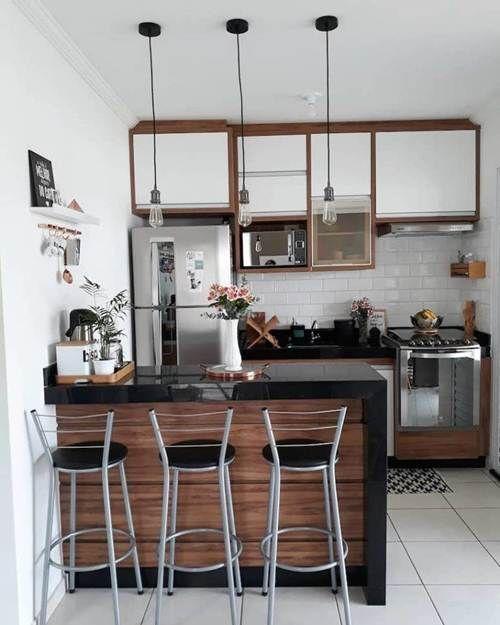 Cozinha Americana Pequena: 58 Modelos Acessíveis