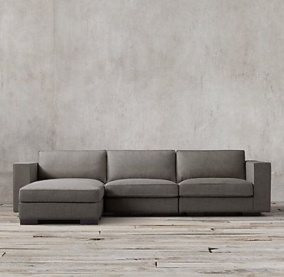 Restoration Hardware Maddox Upholstered Modular Chaise Sectional 1295 3395 Regular 971 2546 Member Modular Sofa Modern Leather Sofa Comfy Sectional