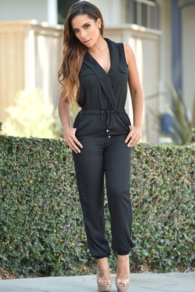 3ced5683e1ee Funemployment Jumpsuit features an unfettered silhouette