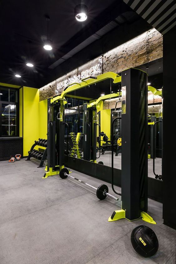 Pin by g h on 工业风 in gym design at home gym gym interior