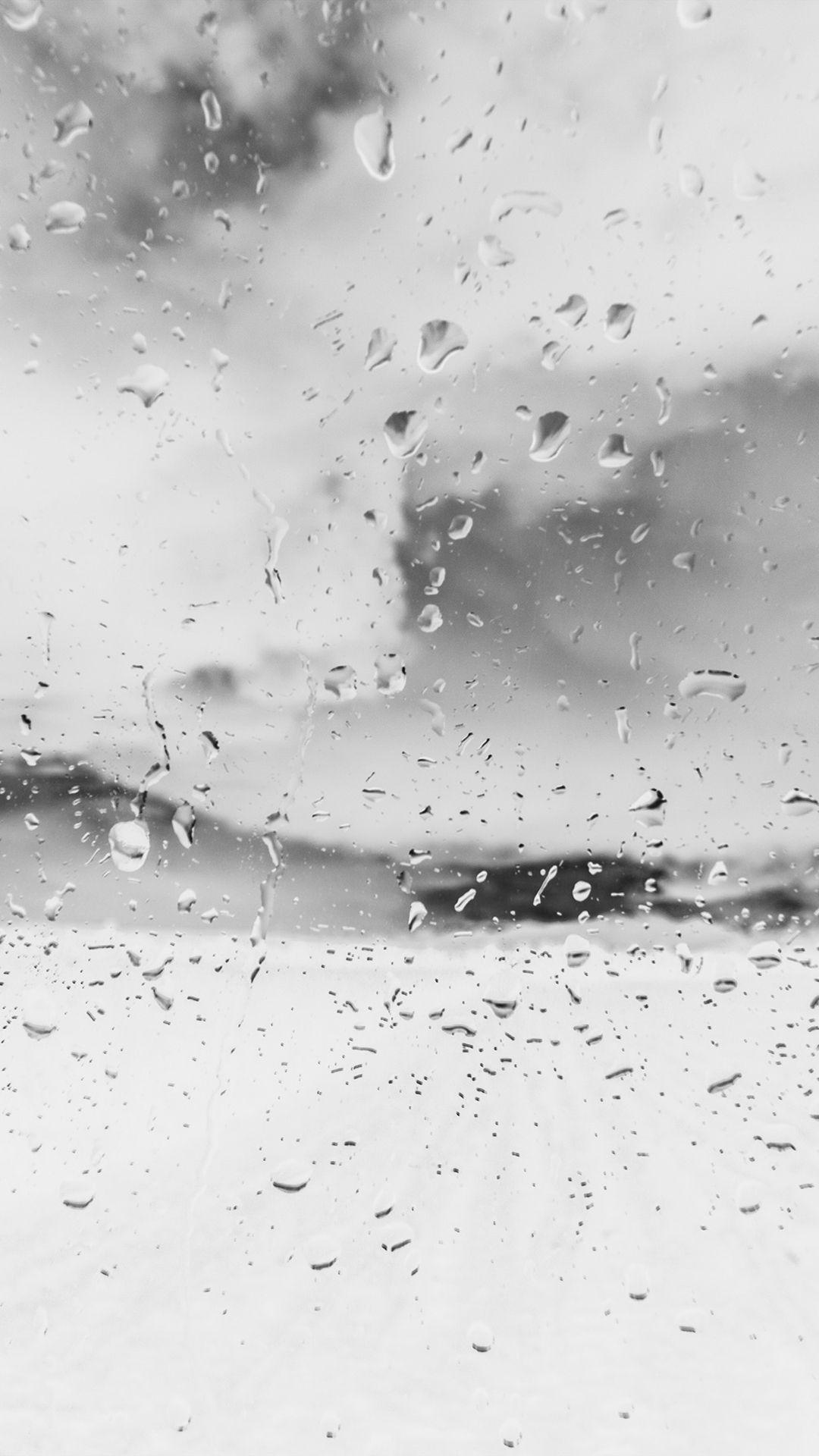 Rainy Window Nature Water Drop Road White Iphone 6 Wallpaper Download Iphone Wallpapers Ipad Wallpapers One Nature Water Rainy Wallpaper Iphone 4s Wallpaper