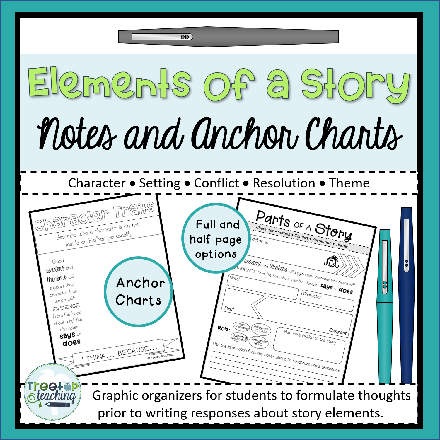 Elements Of A Story Notes