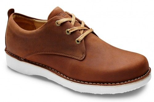 Comfortable men's leather casual oxford shoes, the Un-Sneaker Collection | Samuel Hubbard