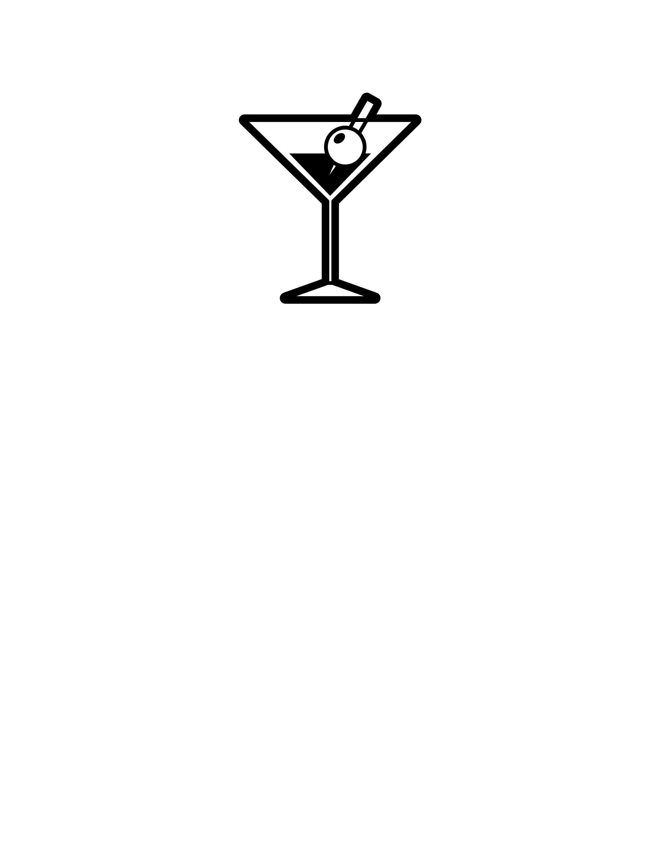 Martini Drink Digital File Svg Png Jpg Cricut Etsy Alcoholic Drinks Martinis Drinks Martini