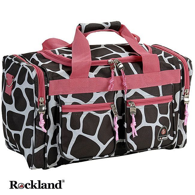 If you want to turn heads everywhere you go, the Rockland Bel-Air carry-on duffel bag is the perfect addition to your luggage lineup. And no matter where your travels take you, this bags heavy-duty 600 denier polyester will keep your things safe.