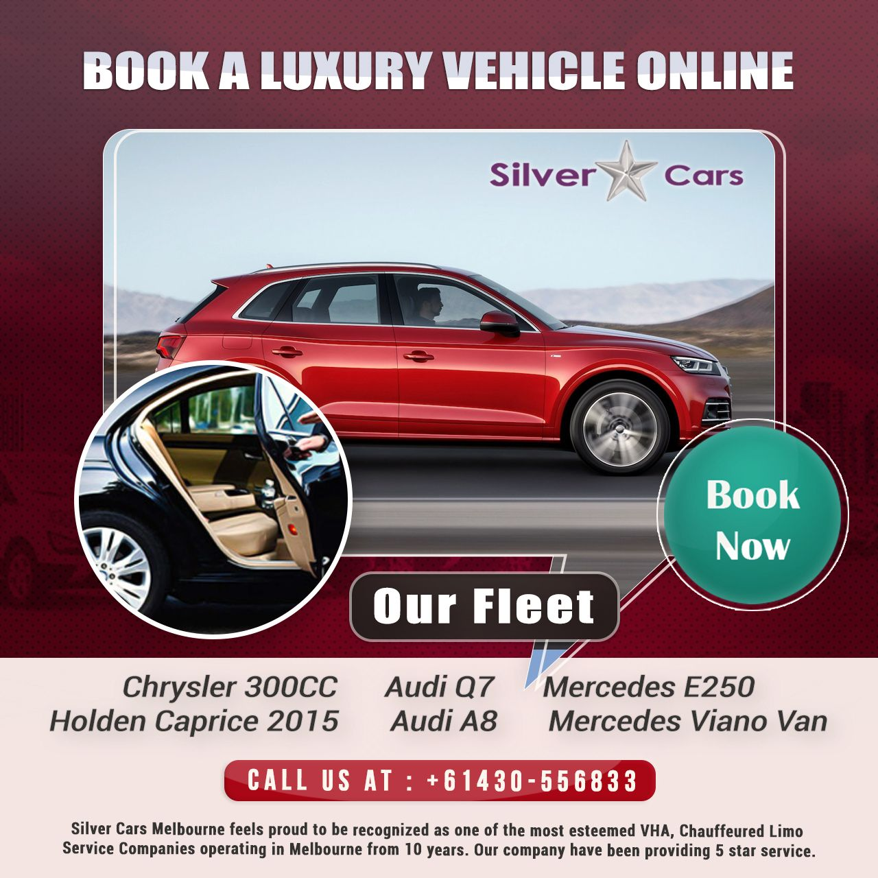 Silver Star Cars provide cars for the rental purpose in