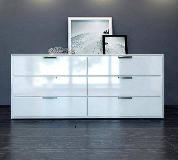 Bedroom Wonderful Glossy White Dresser Glossy White Dresser Long Bedroom Dresser Sets In White Painted Also Dresser Design Modern Bedroom Decor Modern Dresser