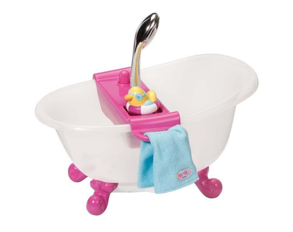 Zapf Creation 818183 Baby Born Interactive Badewanne Mit Ente Babypuppen Und Zubehor Amazon De Spielzeug Baby Geboren Zapf Creation Baby
