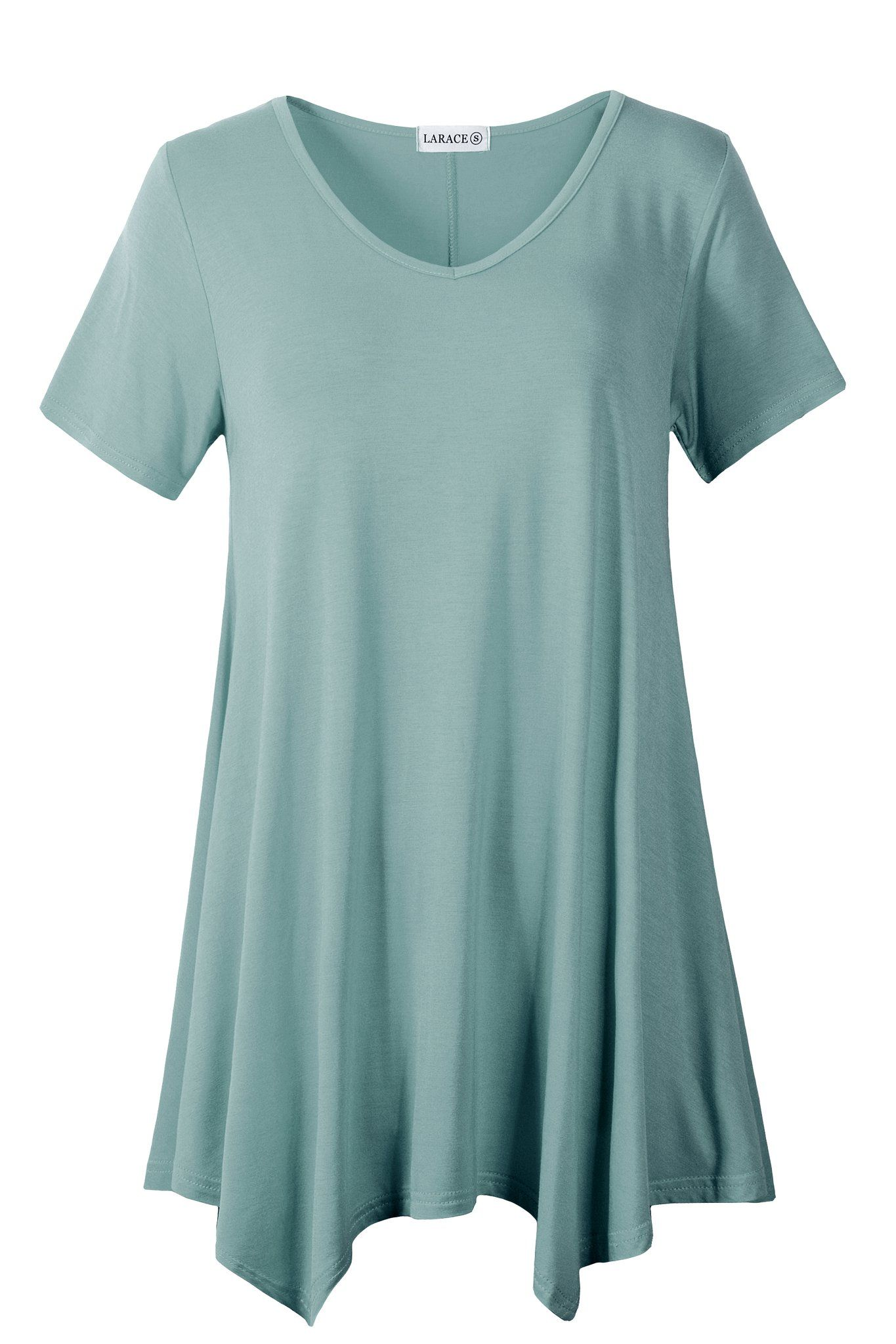 464261f18ecd Casual T Shirt V-Neck Tunic Tops for Leggings in 2019   CHEAP ...