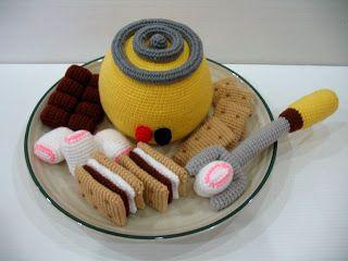 Crochet de Skymagenta: alimentos