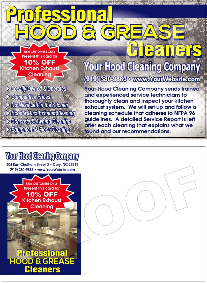 Kitchen Exhaust Hood Cleaning Checklist Cleaning