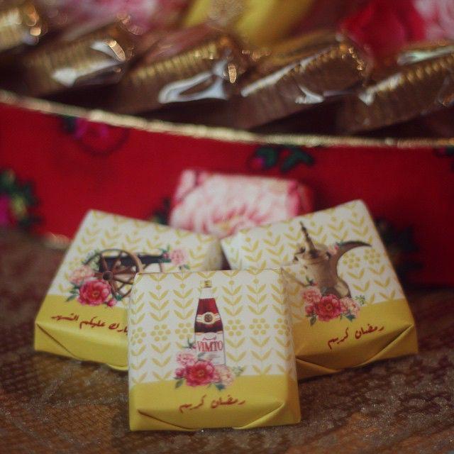 الكوليكشن الرمضاني متوفرة الآن بالمحل حلا سكر حلويات قهوة نقوة شوكولاته ضيافة تقديمات فستق Islamic Celebrations Eid Decoration Happy Eid