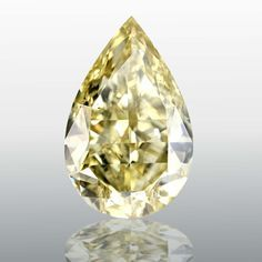 Shape: Pear | Weight: 15.02ct | Color: Fancy Yellow | Clarity: SI1 | LAB: GIA | Cert Link: http://download.certimage.com/Certificates/PP1095.pdf  #fancycolordiamonds #middiamonds #fancy #diamonds #diamond #mid #Pear #GIA