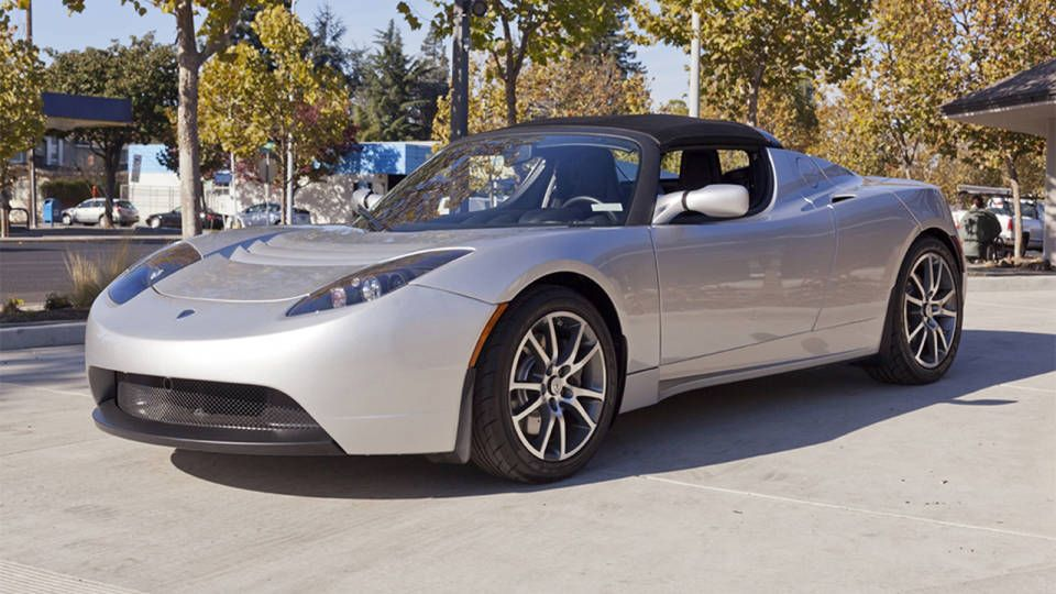 Buy a pre-owned Tesla Roadster and a handheld hydrogen charging ...