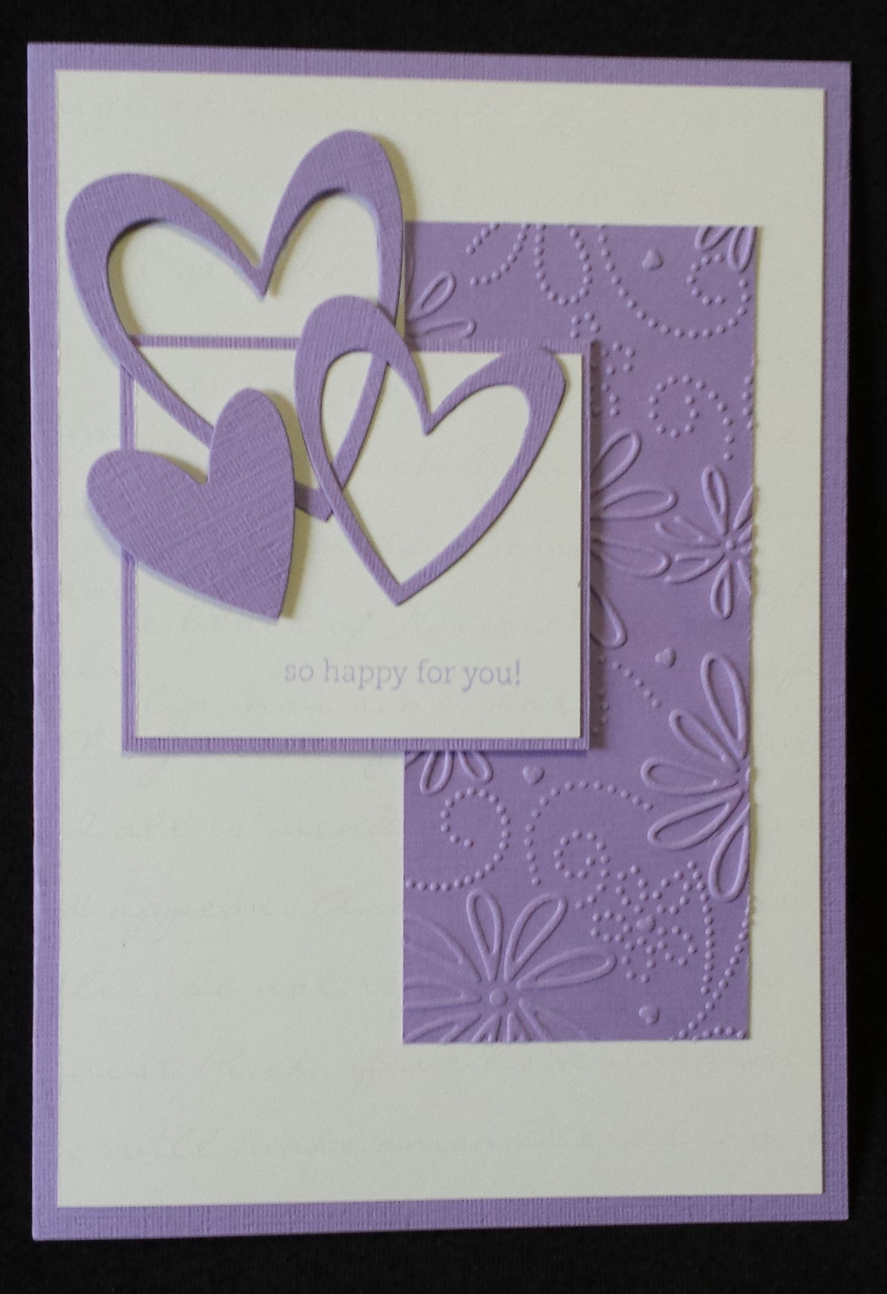 Hand made card engagement card congrats al and juz valentines hand made card engagement card congrats al and juz kristyandbryce Choice Image