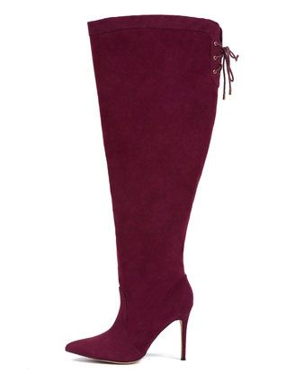 Luella Over-The-Knee Boot from eloquii.com | Petite Size 11 Feet ...