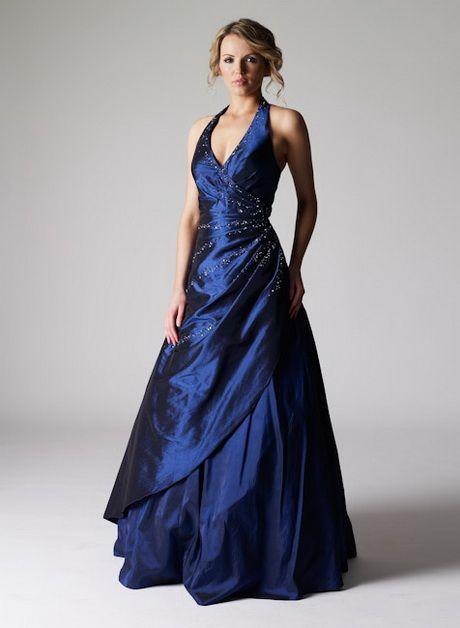 Abendkleid lang dunkelblau | Abendkleid lang blau ...
