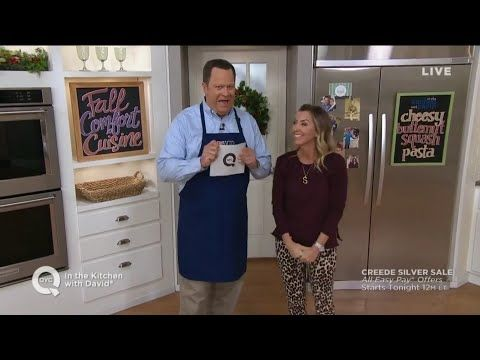 in the kitchen with david on qvc october 3 2018 full episode rh pinterest com
