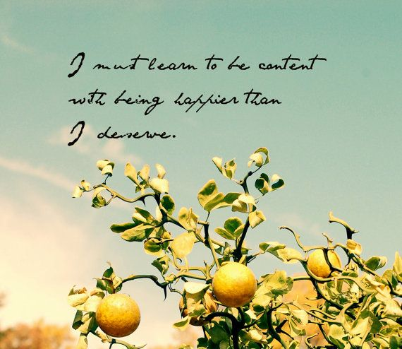 I must learn to be content Quote Dictionary Print Jane Austen Pride /& Prejudice