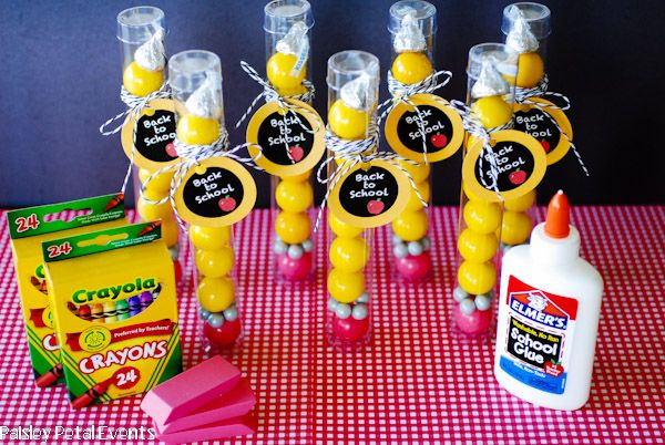 Back To School Party Ideas And A Fun Party Favor With Images