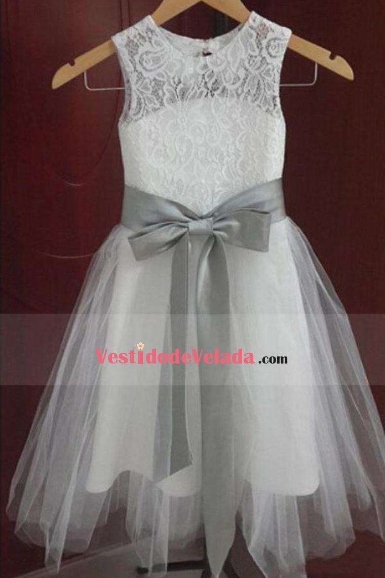 Ropa de boda Línea A Cuchara Sin mangas Cremallera de detrás